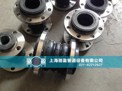 橡胶接头管道支架的应用