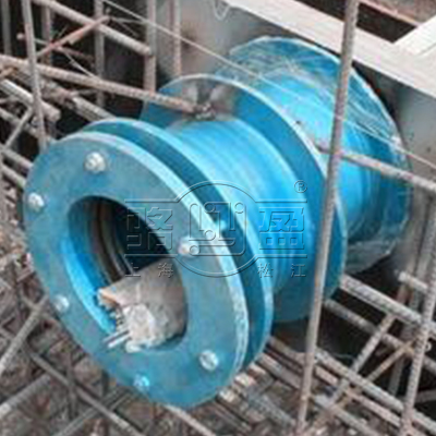 防水套管的填充材质和操作