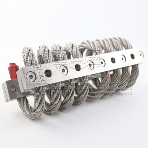 GS型不锈钢丝绳隔振器